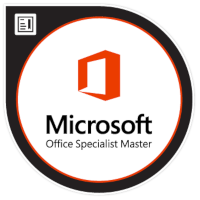 Logo Microsoft Office Specialist Master