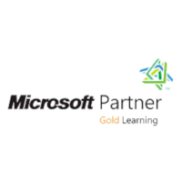 Logo Microsoft gold learning partner