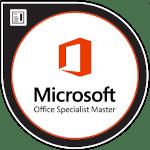 Logo Microsoft Office Specialist Master