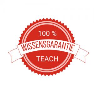 Logo TEACH Wissensgarantie
